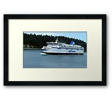 Spirit Of British Columbia Framed Print