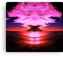 spirit of the sky Canvas Print