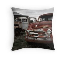 Two old timers Throw Pillow