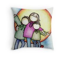 My Boys and I Throw Pillow