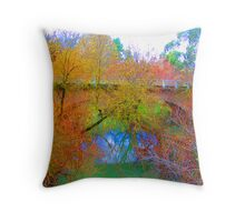 mylor bridge Throw Pillow