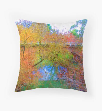 mylor bridge Throw Pillow