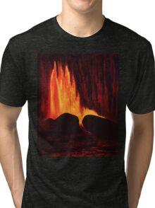 Hawaiian Lava Flow Tri-blend T-Shirt