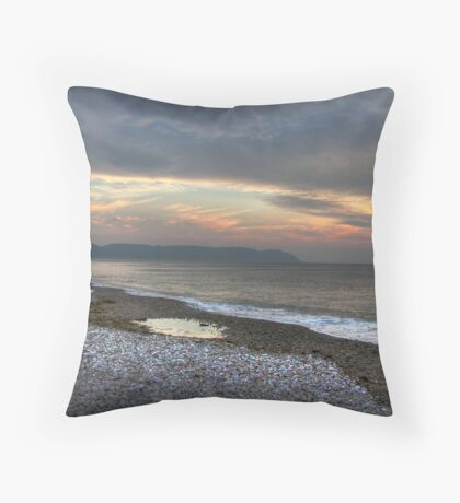 Aspey Bay Cape Breton Island Nova Scotia Throw Pillow