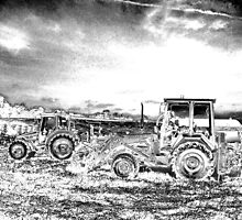 OLD TRACTORS by gothgirl