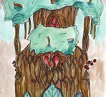Tree Palace by GenericSoda