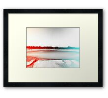 Digital Landscape #10 Framed Print