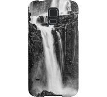 Iguazu Falls - Fall to the Rocks - Monochrome Samsung Galaxy Case/Skin
