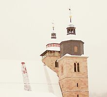 City Church in Wintertime I.I by rose-etiennette