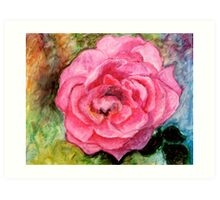 Ree's Rose 2 Art Print
