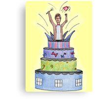 The Cake Canvas Print
