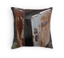 Out of beer! Throw Pillow