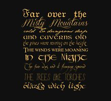 Misty Mountains Thorin's Song Unisex T-Shirt