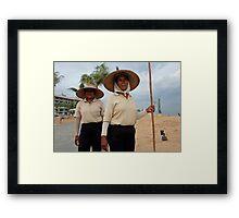 Sampan Ladies Framed Print