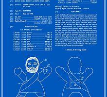 Talking Jesus Doll Patent - Blueprint by FinlayMcNevin