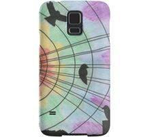 Birds on the wire Samsung Galaxy Case/Skin