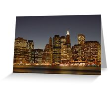 New York - New York Greeting Card