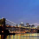 Over The Brooklyn Bridge by ScottL