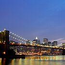 Over The Brooklyn Bridge by ScottL