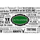 Outlander Mug (Green) by patee333