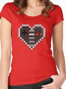 Control your Heart Women's Fitted Scoop T-Shirt
