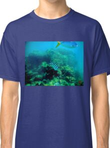 Commonly Seen Tropical Fish Classic T-Shirt