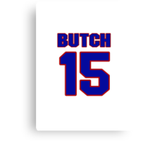 Basketball player Butch Lee jersey 15 Canvas Print
