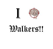 I Target Walkers Photographic Print