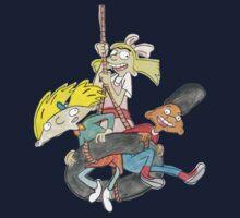 Arnold, Gerald and Helga Kids Tee