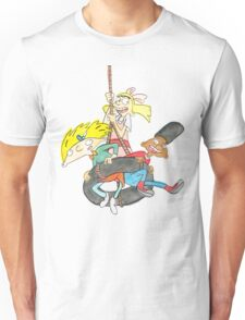 Arnold, Gerald and Helga Unisex T-Shirt
