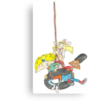 Arnold, Gerald and Helga Canvas Print