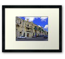 Valletta Street Framed Print