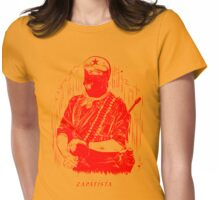 red zapatista Womens Fitted T-Shirt