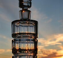 Bottled Sunset Cape Breton Nova Scotia by EvaMcDermott