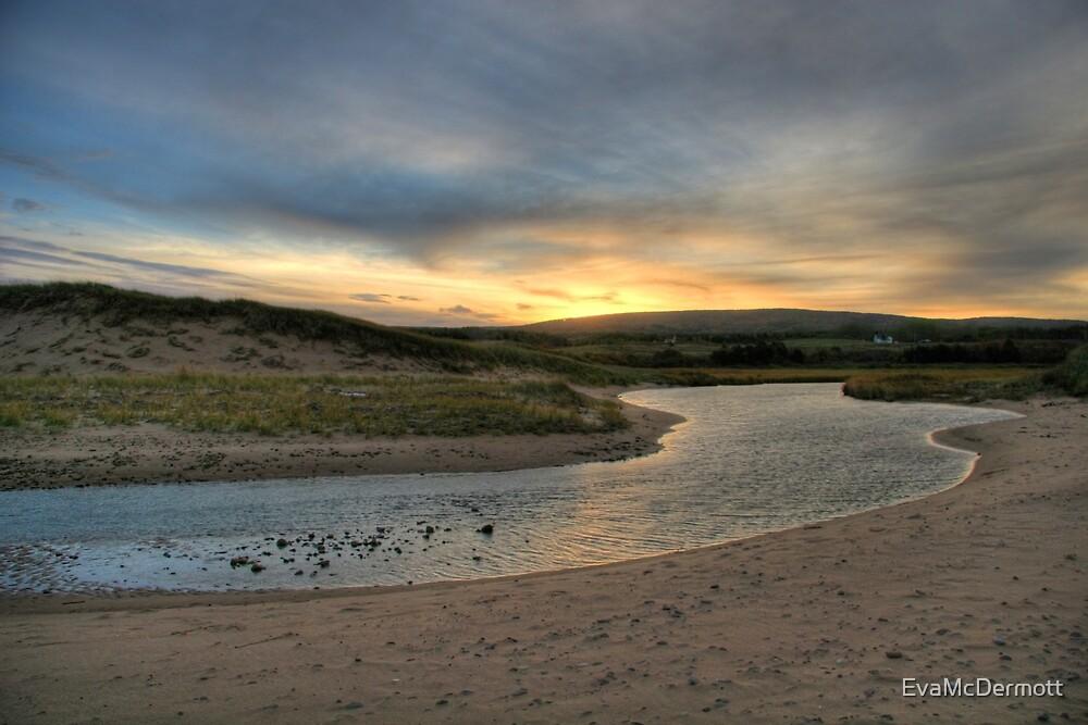 Inverness Beach Sunrise Nova Scotia by EvaMcDermott