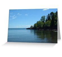 On the Shoreline Greeting Card