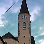 The village church of Oberkappel I | architectural photography by Patrick Jobst