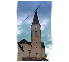 The village church of Oberkappel I   architectural photography Poster