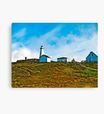 Cape Spear Scenery Canvas Print