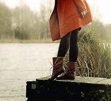 red at the river  by LauraZalenga
