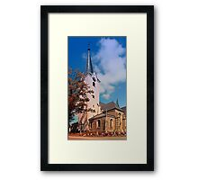 The village church of Oberneukirchen II | architectural photography Framed Print
