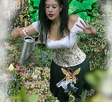 New Garden Fairy Keeper by Harri