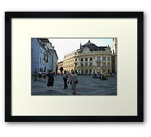 Typical Day Framed Print