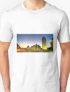 Leaning Tower by Dusk  Unisex T-Shirt