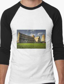 Leaning Tower of Pisa  Men's Baseball ¾ T-Shirt