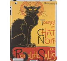 Soon, the Black Cat Tour by Rodolphe Salis iPad Case/Skin