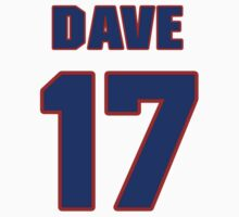 Basketball player Dave Fedor jersey 17 by imsport