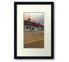 The firestation of Waldburg | architectural photography Framed Print