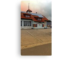 The firestation of Waldburg | architectural photography Canvas Print