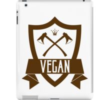 VEGAN COAT OF ARMS iPad Case/Skin
